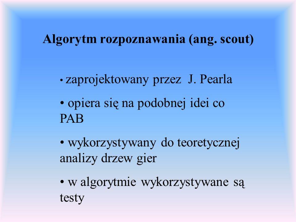 Algorytm rozpoznawania (ang. scout)