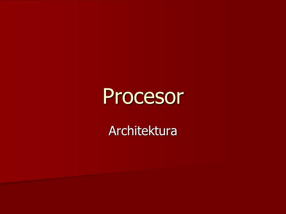 Procesor Architektura