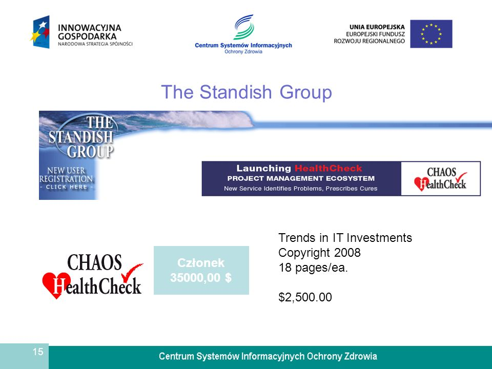 The Standish Group Trends in IT Investments