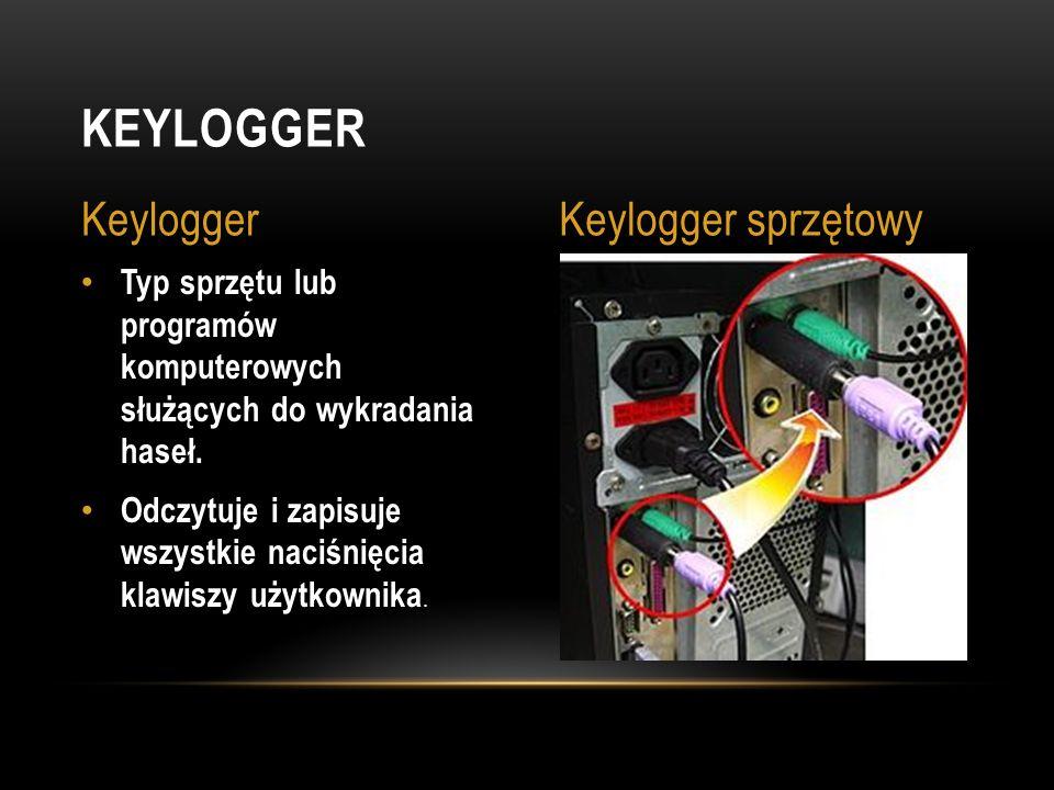 Keylogger Keylogger Keylogger sprzętowy