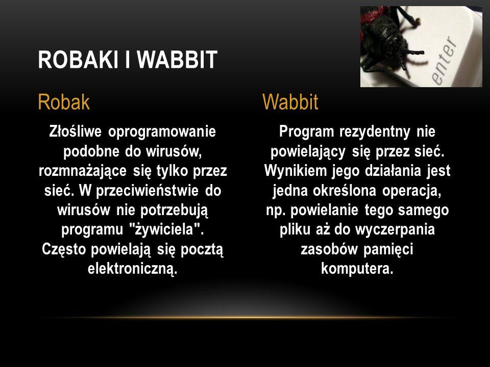 Robaki i Wabbit Robak Wabbit