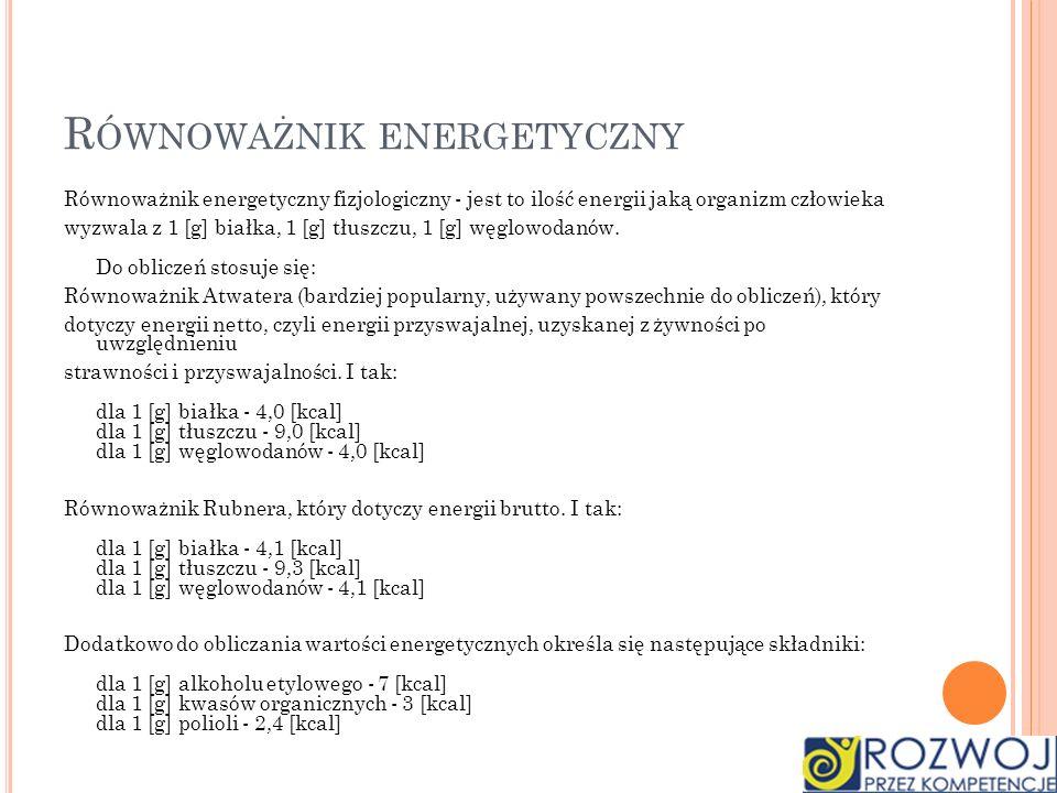 Równoważnik energetyczny