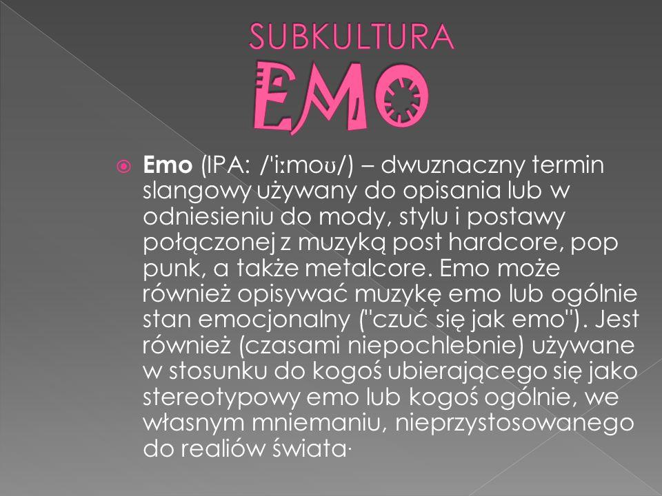 SUBKULTURA EMO
