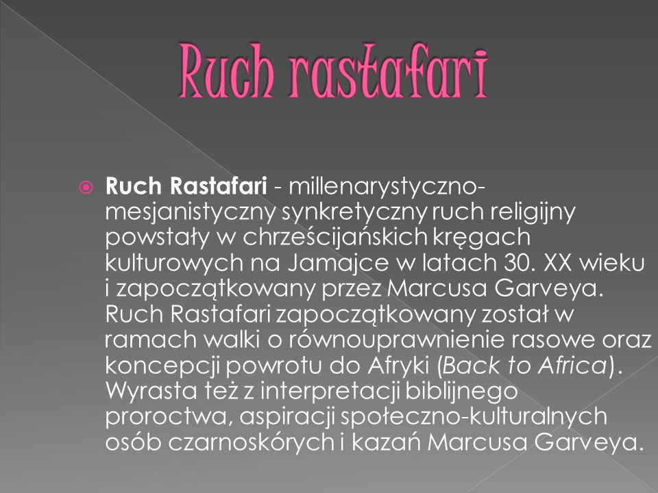 Ruch rastafari