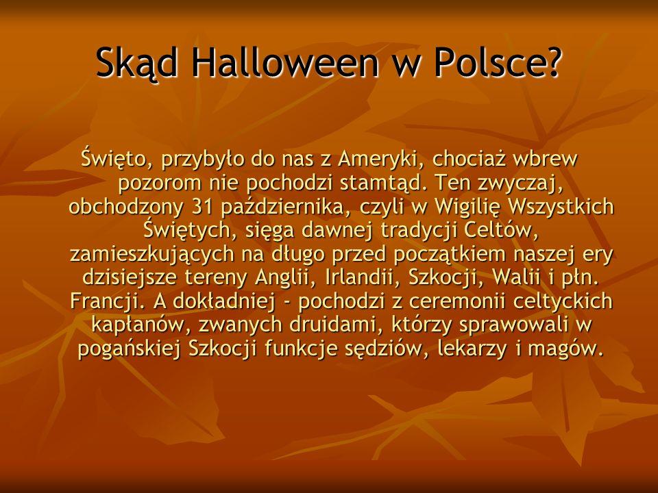 Skąd Halloween w Polsce