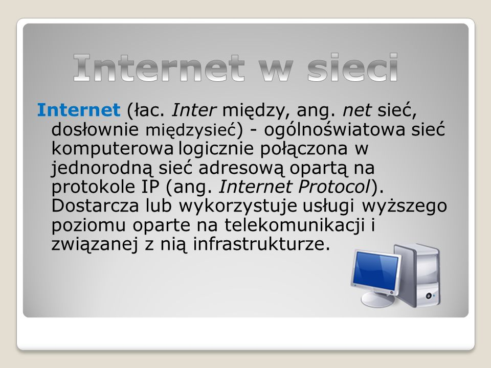 Internet w sieci