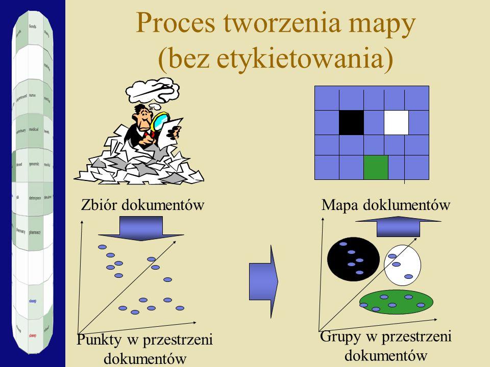 Proces tworzenia mapy (bez etykietowania)
