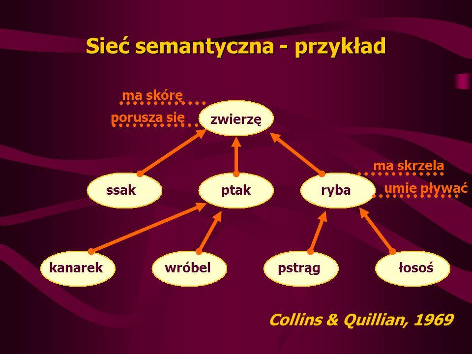 Sieć semantyczna - przykład