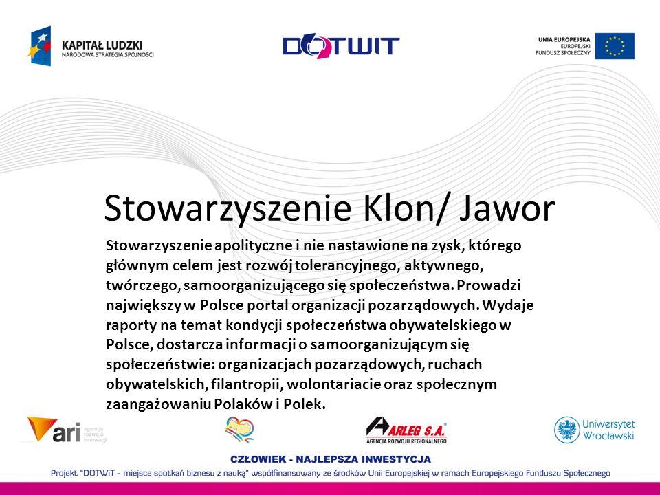 Stowarzyszenie Klon/ Jawor