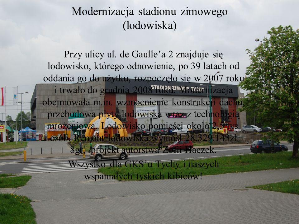 Modernizacja stadionu zimowego (lodowiska)