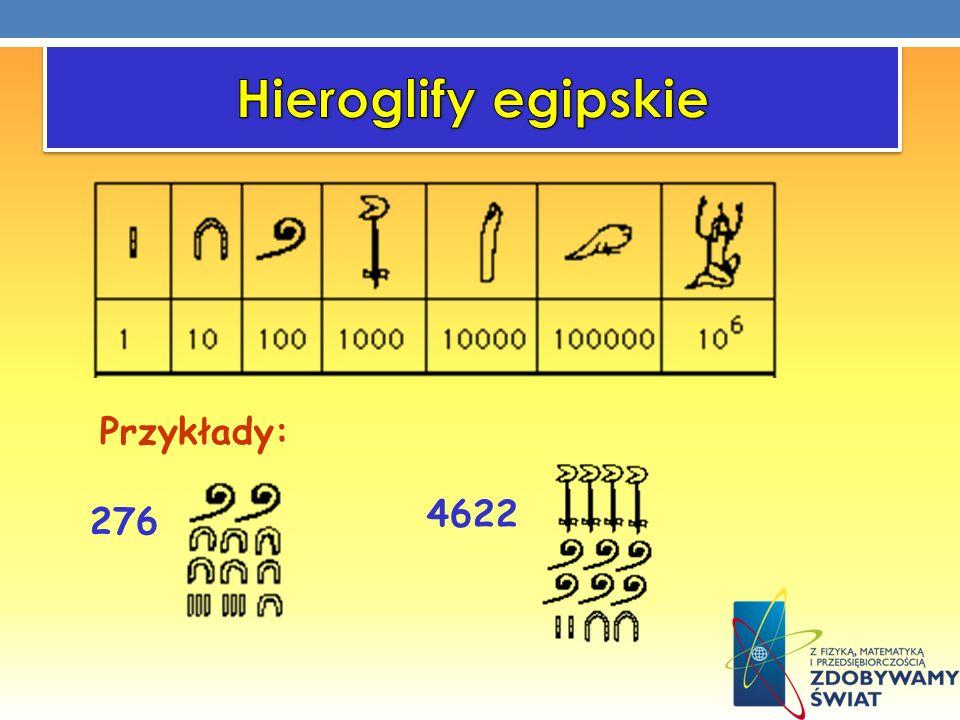 Hieroglify egipskie Przykłady: 4622 276