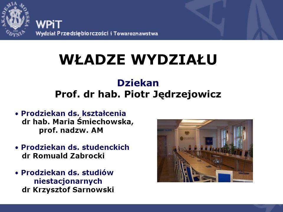 Prof. dr hab. Piotr Jędrzejowicz