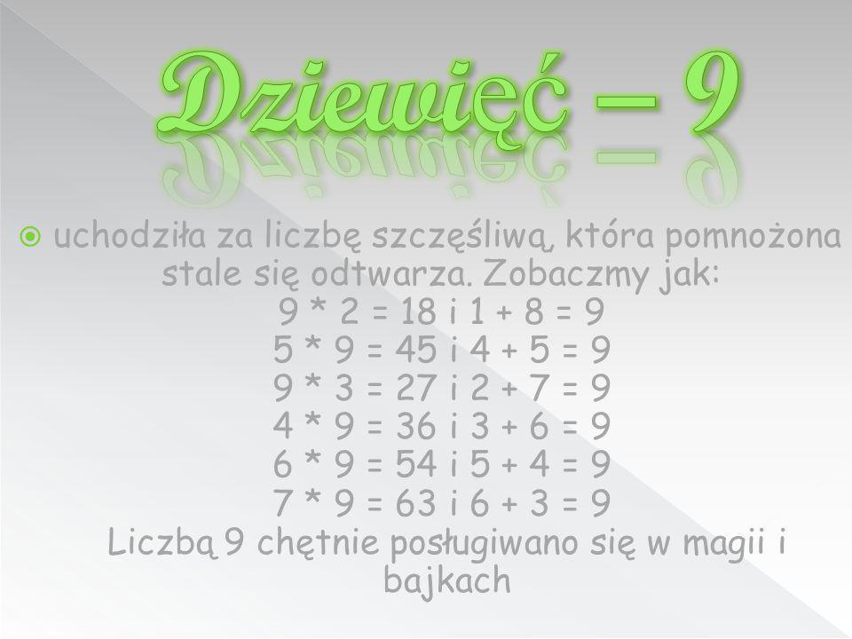 Dziewięć – 9
