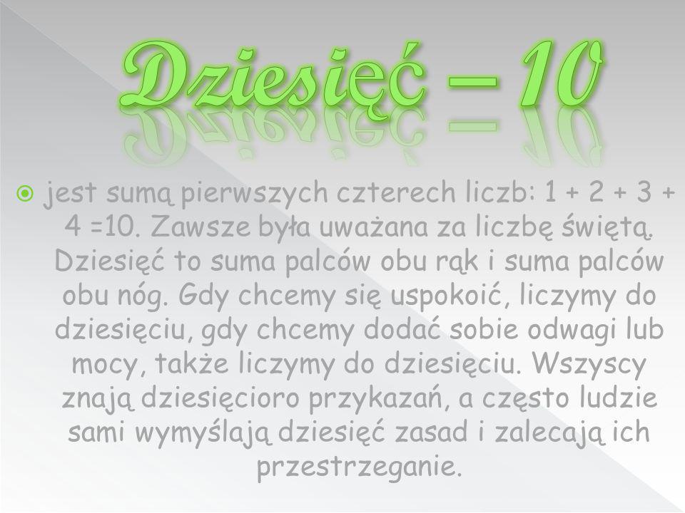 Dziesięć – 10