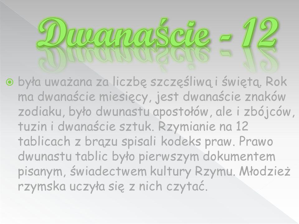 Dwanaście - 12