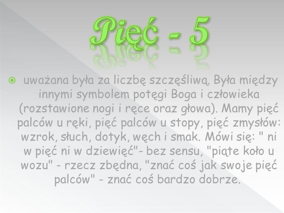 Pięć - 5