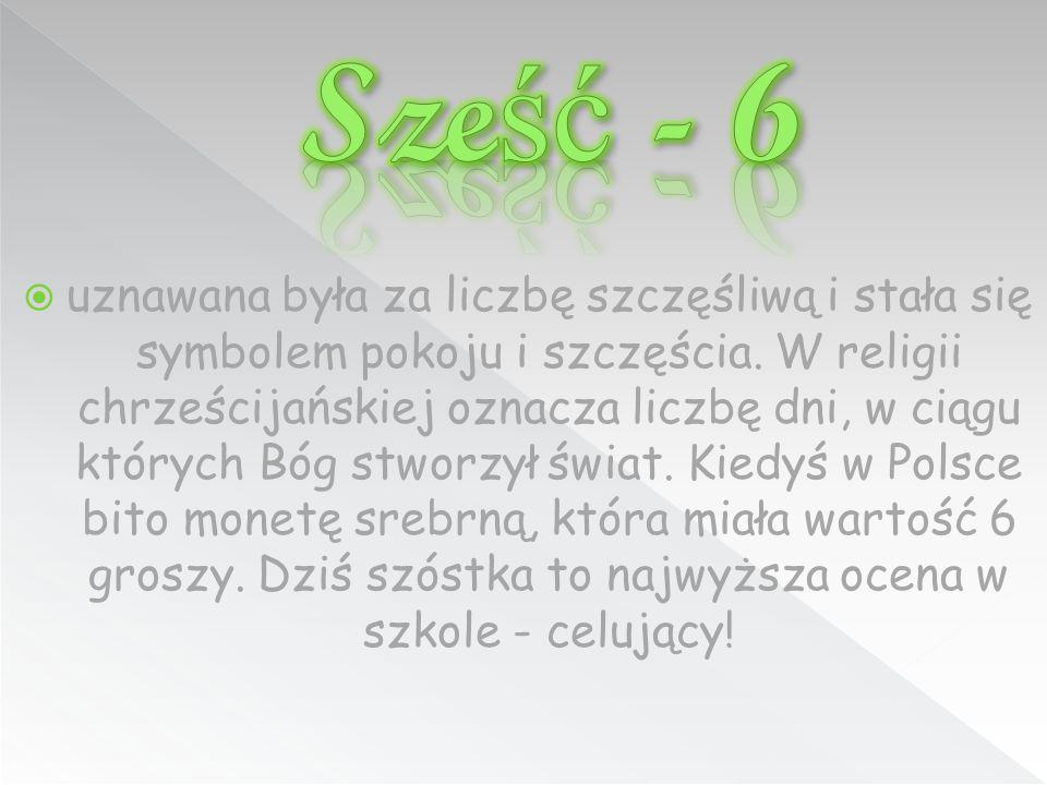 Sześć - 6