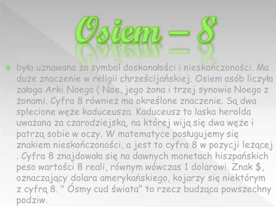 Osiem – 8