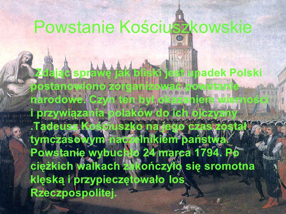 Powstanie Kościuszkowskie