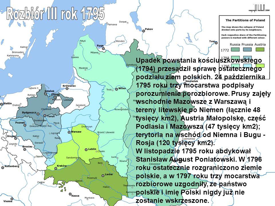 Rozbiór III rok 1795