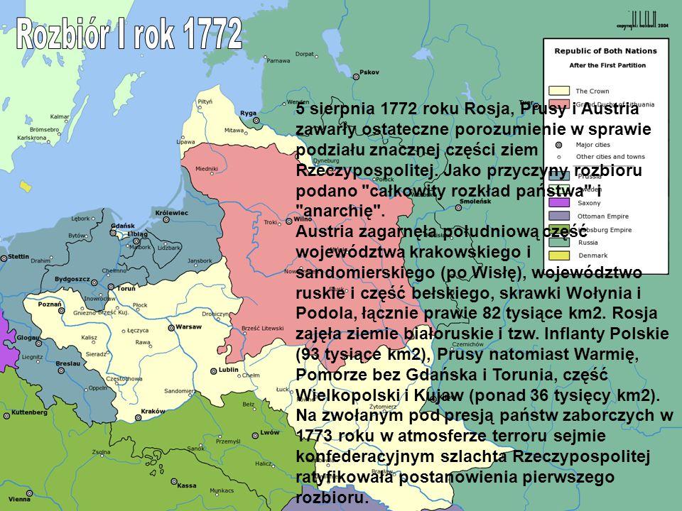 Rozbiór I rok 1772