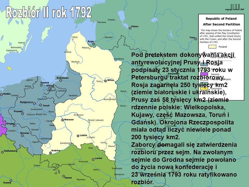 Rozbiór II rok 1792