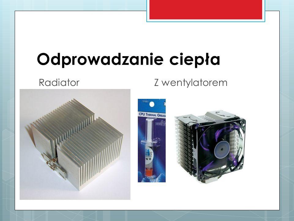 Odprowadzanie ciepła Radiator Z wentylatorem