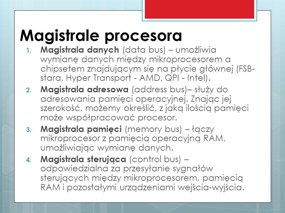 Magistrale procesora