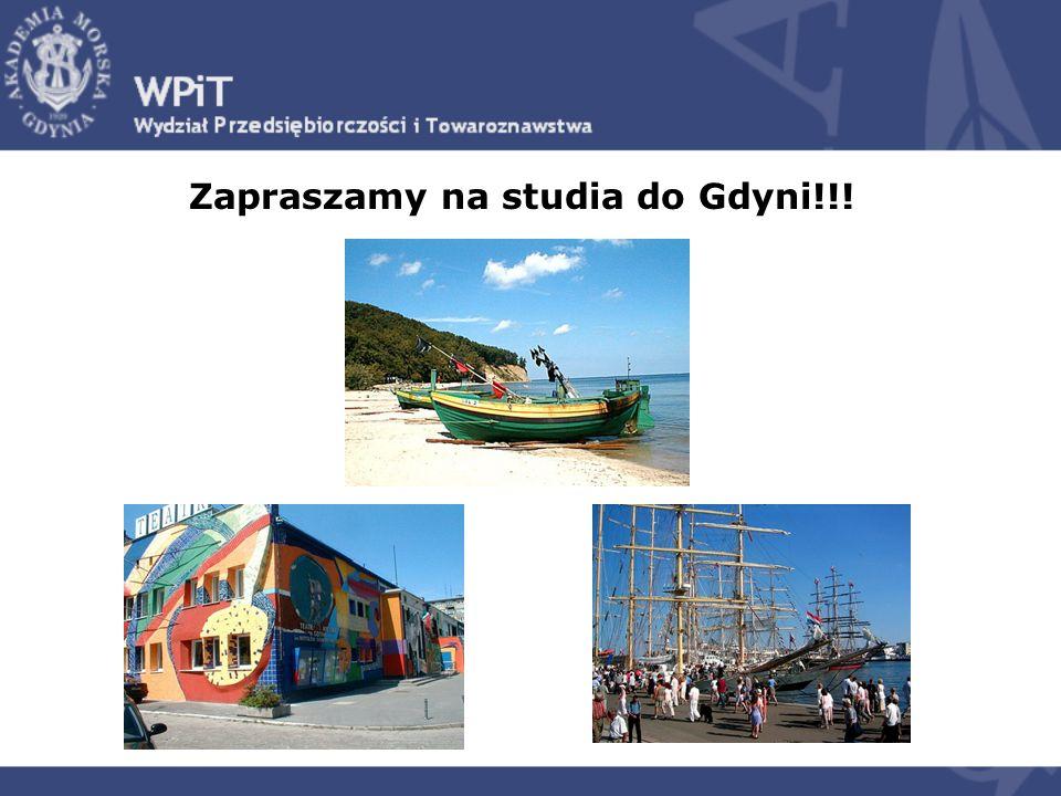 Zapraszamy na studia do Gdyni!!!