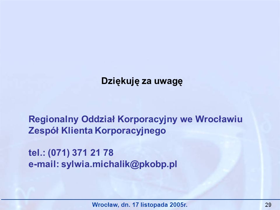 Regionalny Oddział Korporacyjny we Wrocławiu