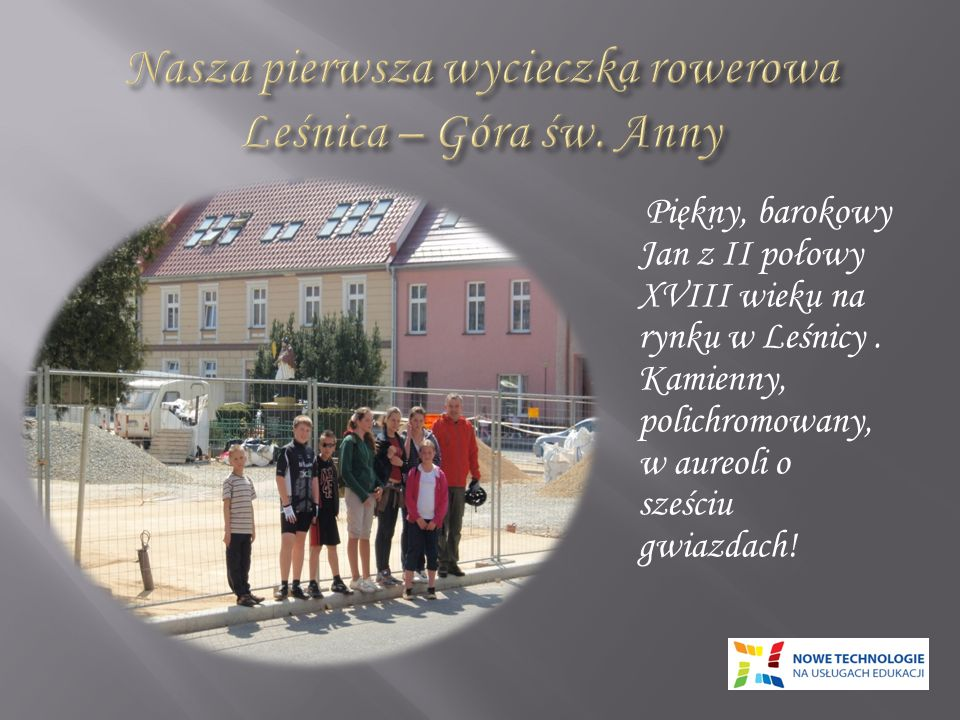 Nasza pierwsza wycieczka rowerowa Leśnica – Góra św. Anny