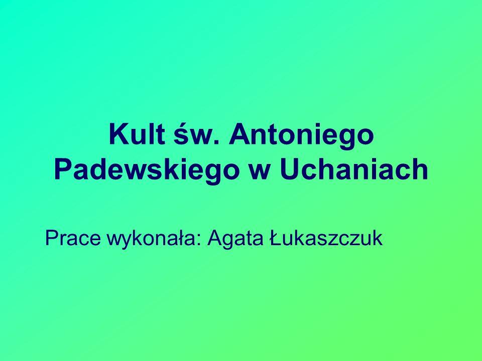 Kult św. Antoniego Padewskiego w Uchaniach