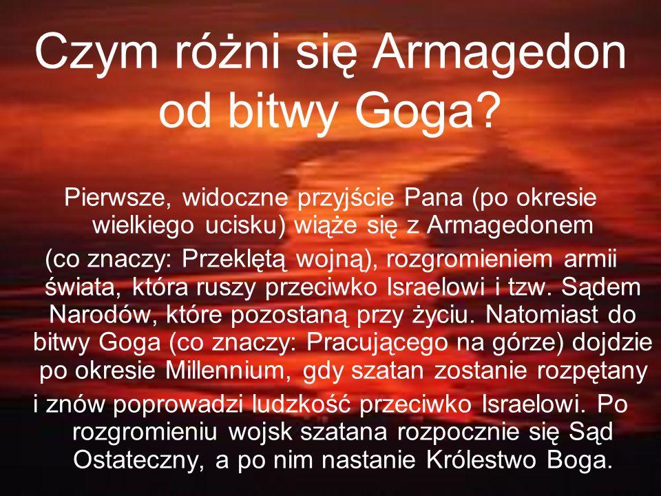 Czym różni się Armagedon od bitwy Goga