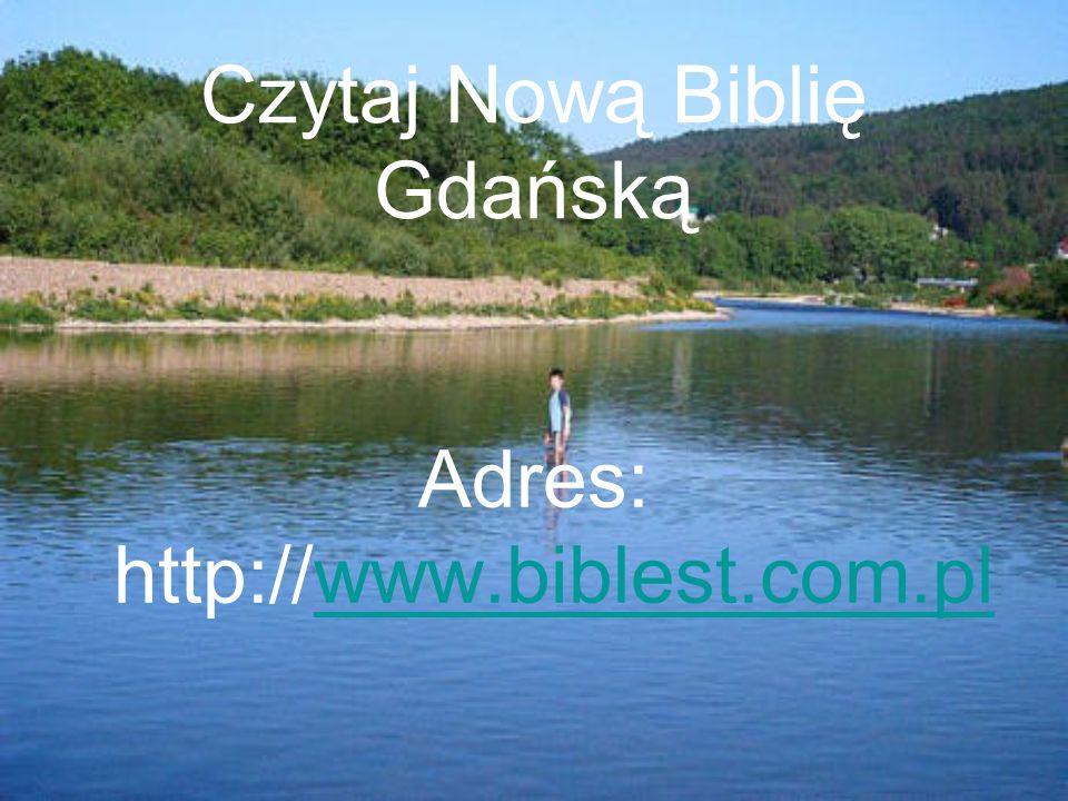 Czytaj Nową Biblię Gdańską