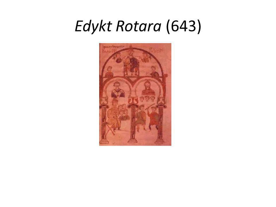 Edykt Rotara (643)