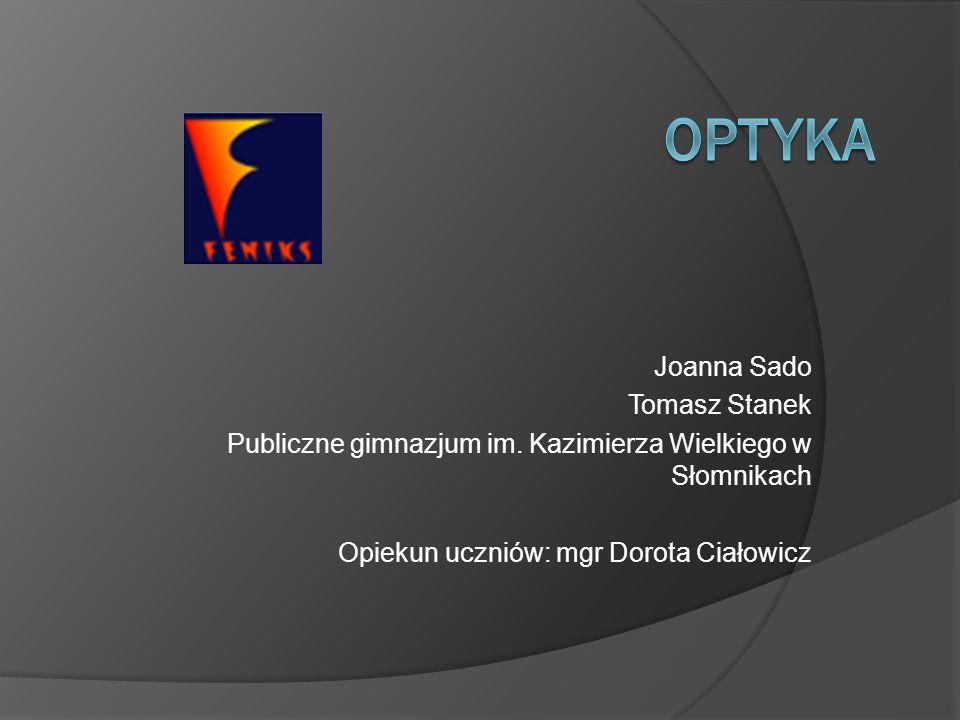 Optyka Joanna Sado Tomasz Stanek