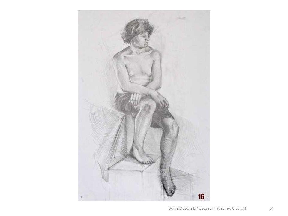 Sonia Dubois LP Szczecin rysunek 6,50 pkt.