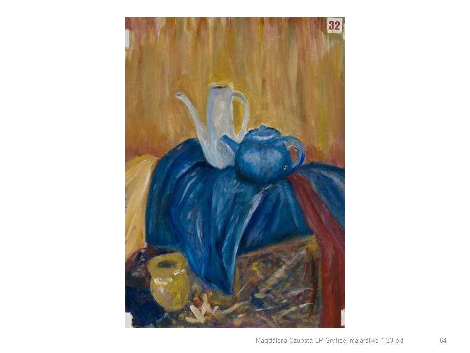 Magdalena Czubata LP Gryfice malarstwo 1,33 pkt