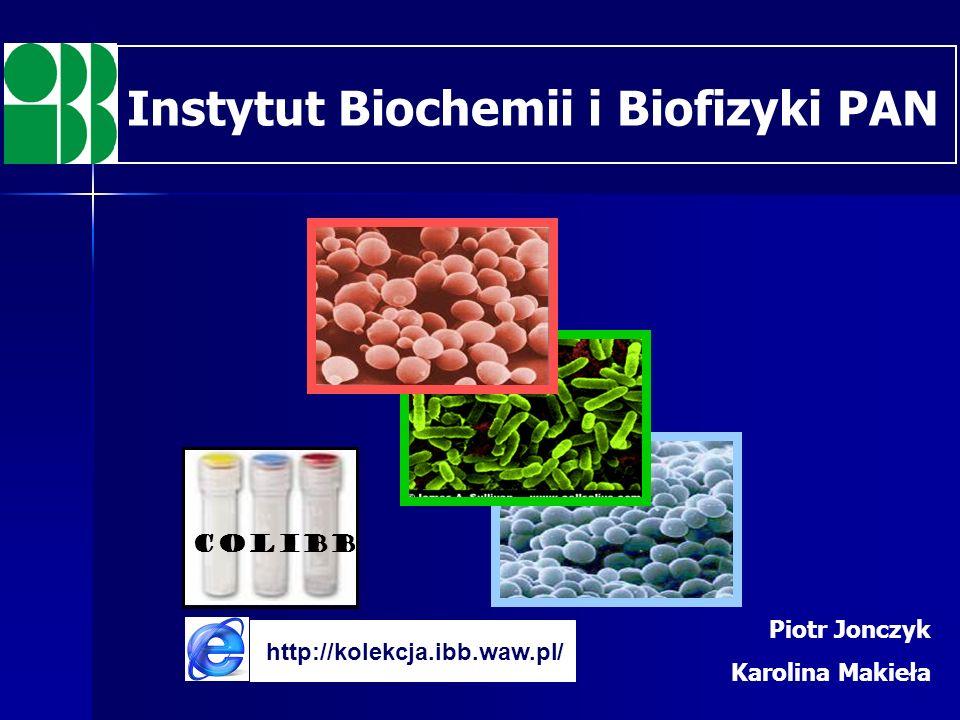 Instytut Biochemii i Biofizyki PAN