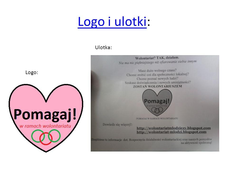 Logo i ulotki: Ulotka: Logo: