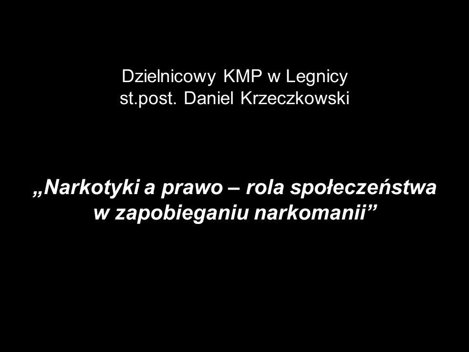 Dzielnicowy KMP w Legnicy st. post