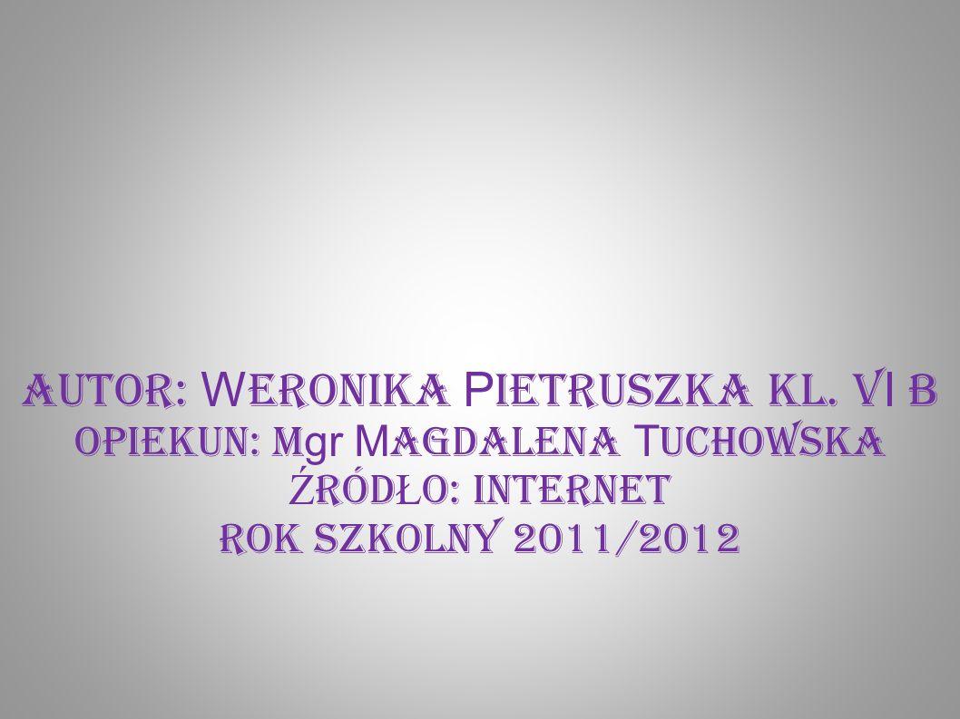 Autor: Weronika Pietruszka kl