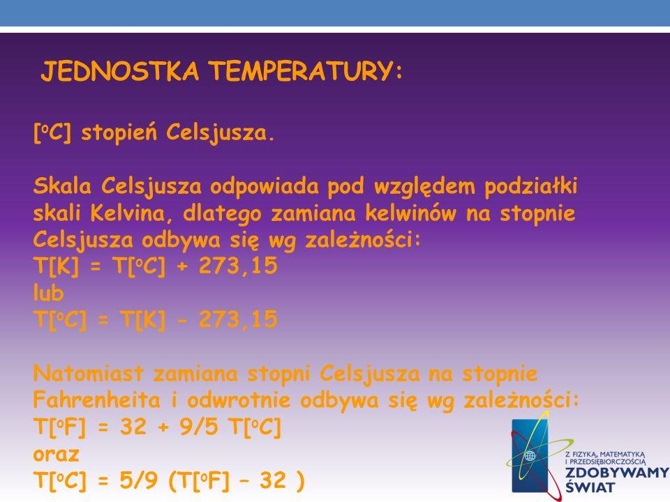 JEDNOSTKA TEMPERATURY: