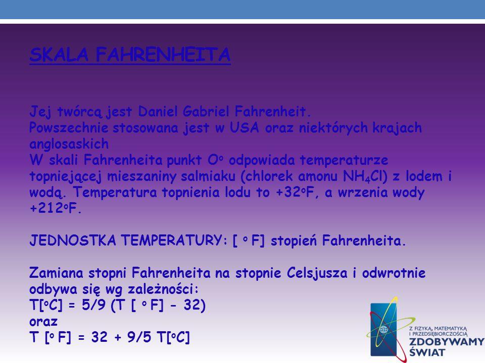 Skala Fahrenheita