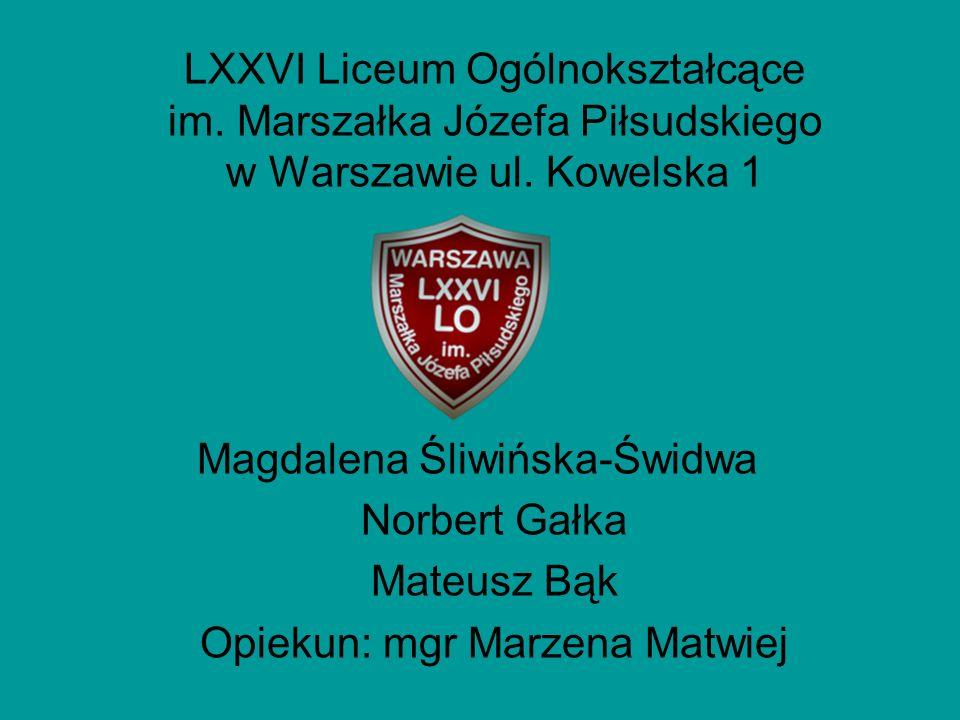 LXXVI Liceum Ogólnokształcące im