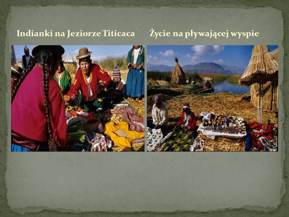 Indianki na Jeziorze Titicaca
