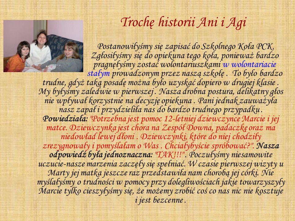 Trochę historii Ani i Agi