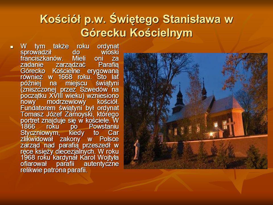 Kościół p.w. Świętego Stanisława w Górecku Kościelnym