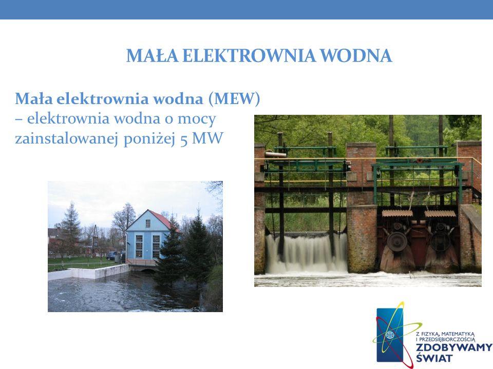 Mała elektrownia wodna