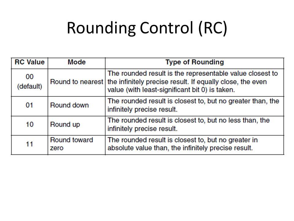 Rounding Control (RC)